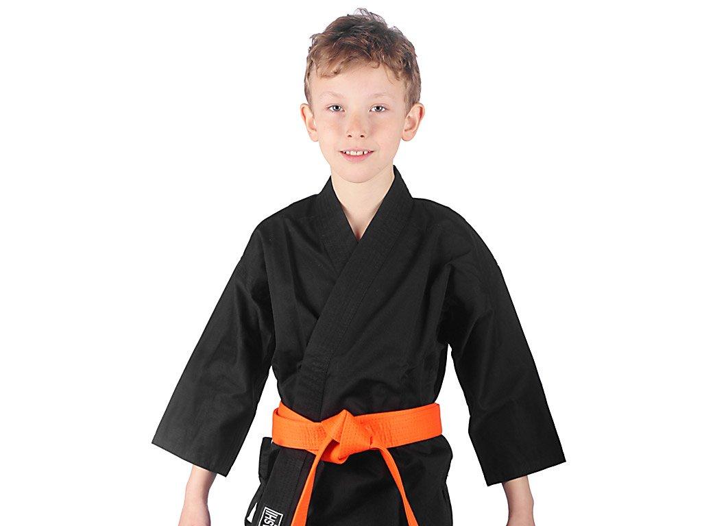 kimono karate cerne
