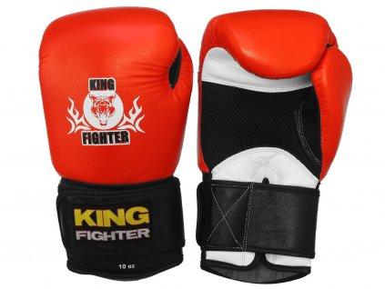 Boxerské rukavice King Fighter s odvětráváním
