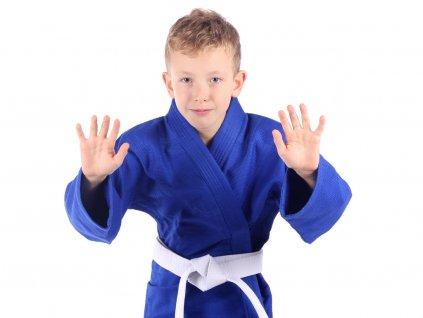 kimono judo modre bail