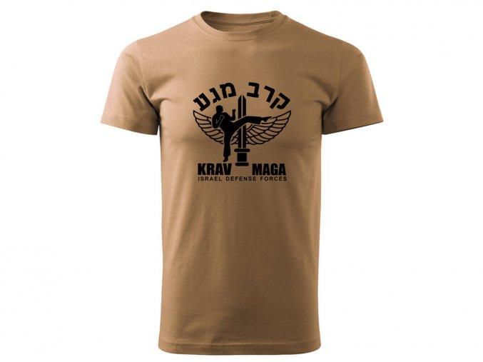 Triko Krav Maga Israel Defense Forces pískové