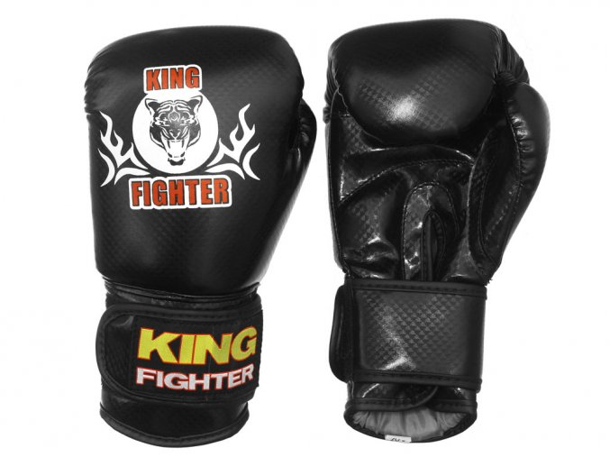 Dětské boxerské rukavice King Fighter carbon black