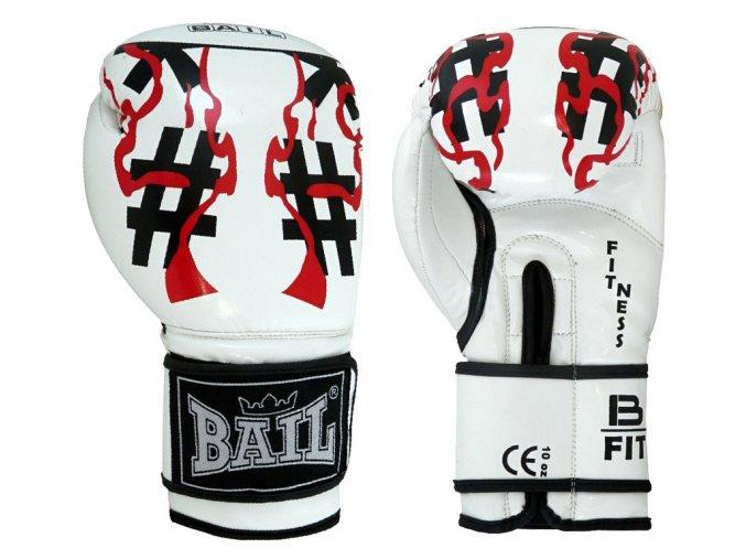 bail rukavice white