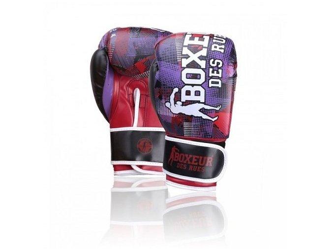 Boxerské rukavice BDR Geometric Coral