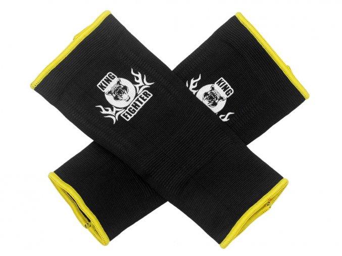 Chrániče kotníků King Fighter černo/žluté