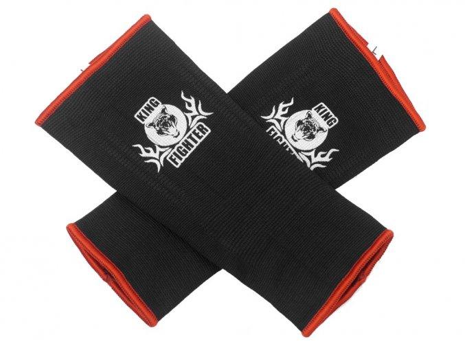 Chrániče kotníků King Fighter černo/červené