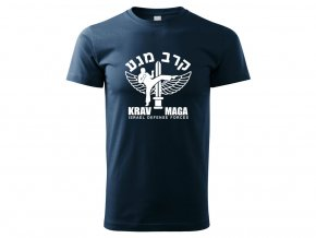 Triko Krav Maga Israel Defense Forces modré