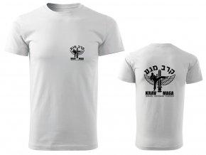 Pánské triko Krav Maga IDF bílé