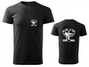 Pánské triko Krav Maga IDF černé