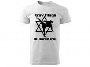 Triko Krav Maga Martial Arts bílé