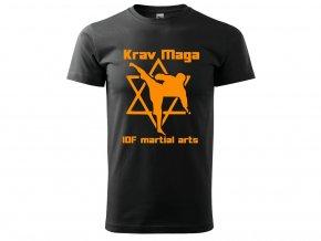 Triko Krav Maga Martial Arts černé