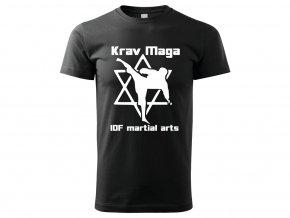Triko Krav Maga Martial Arts černé 2