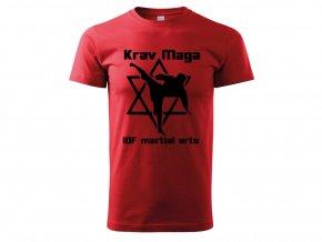 Triko Krav Maga Martial Arts červené