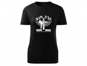 Triko Krav Maga Israel Defense Forces černé dámské