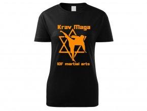 Triko Krav Maga Martial Arts černé dámské