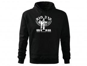 Mikina Krav Maga Israel Defense Forces černá
