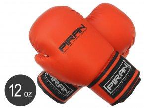 Boxerské rukavice Krav Maga Sparring červené velikost 12oz
