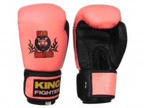 Boxerské rukavice Lady King Fighter Basic 10oz
