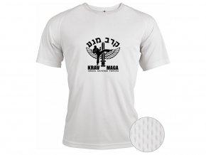 Funkční triko Krav Maga IDF bílé