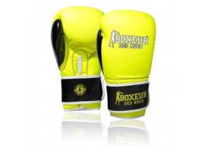 boxerske rukavice fluo yellow boxeur des rues