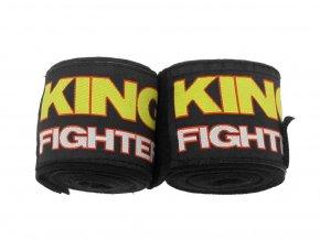 Bandáže King Fighter 2,5 m černé elastické
