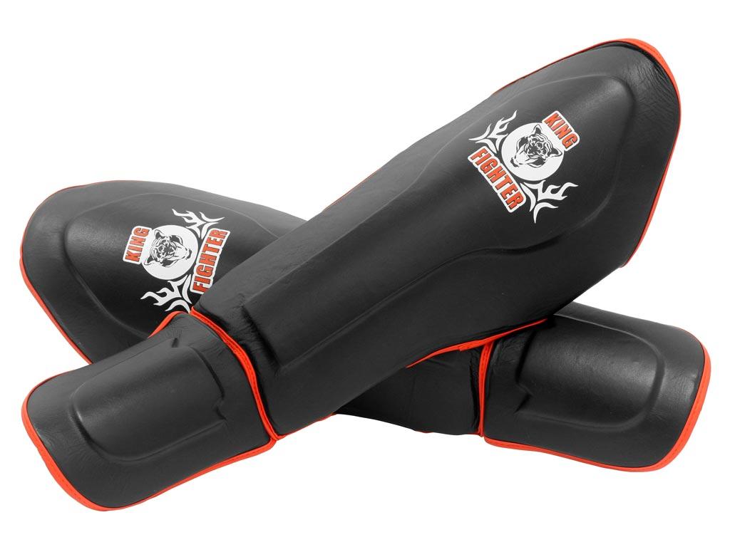 Chrániče holení King Fighter černé Velikost: XL