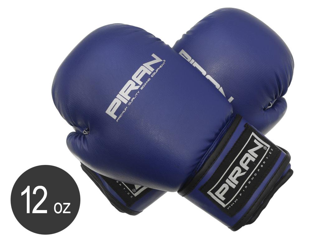Piran Boxerské rukavice Krav Maga Sparring modré velikost 12oz
