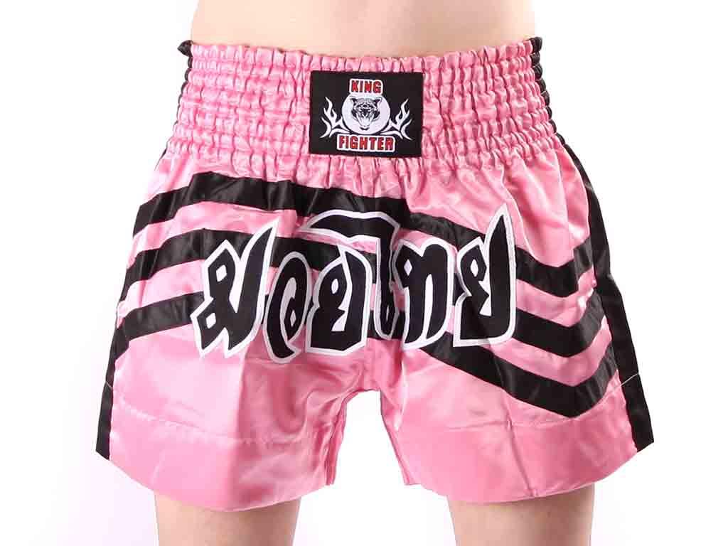 Muay thai trenky King Fighter Pink Velikost: M