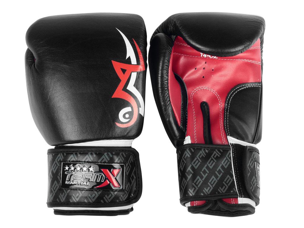 Team X Boxerské rukavice Tribal Muay Thai 14oz