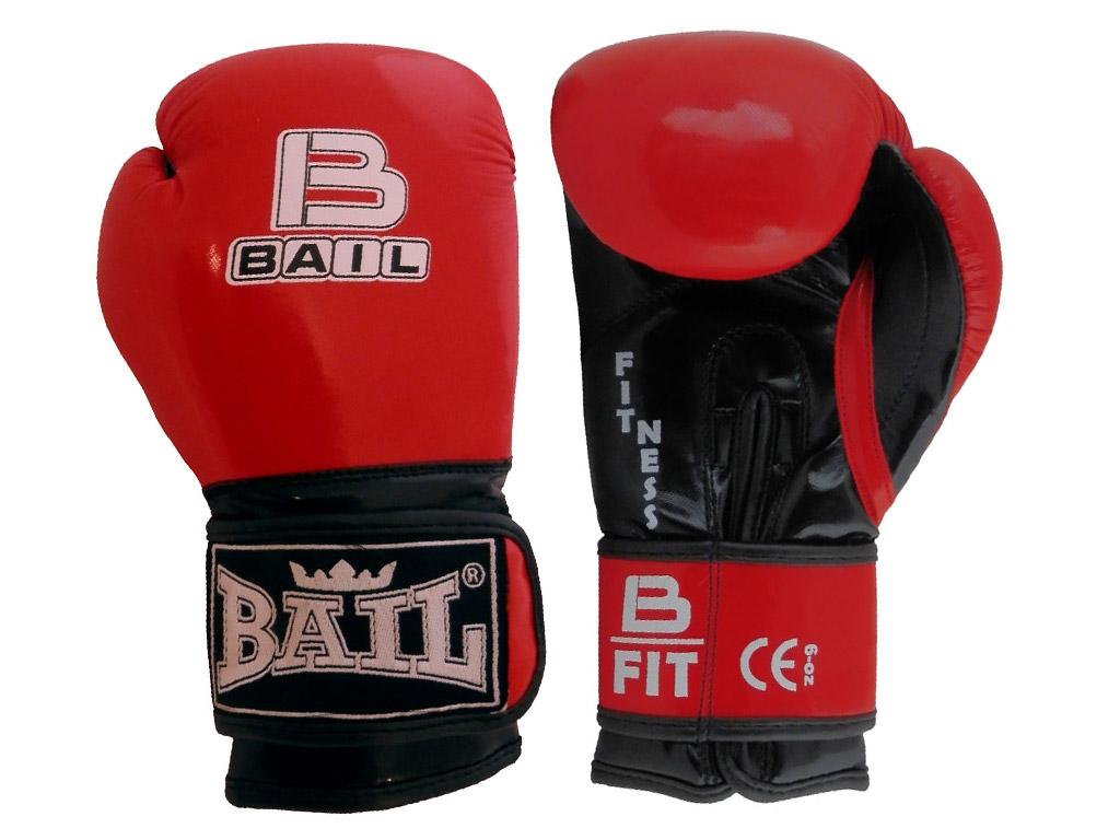 Bail Boxerské rukavice pro děti červené Velikost: 6 oz