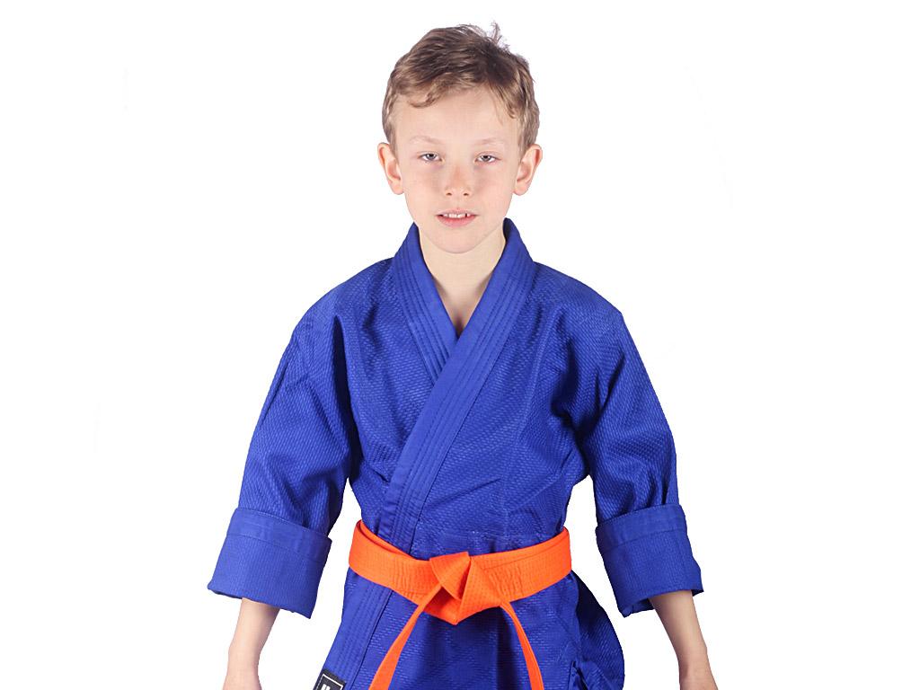 Musashi Dětské kimono na judo modré Velikost: 120