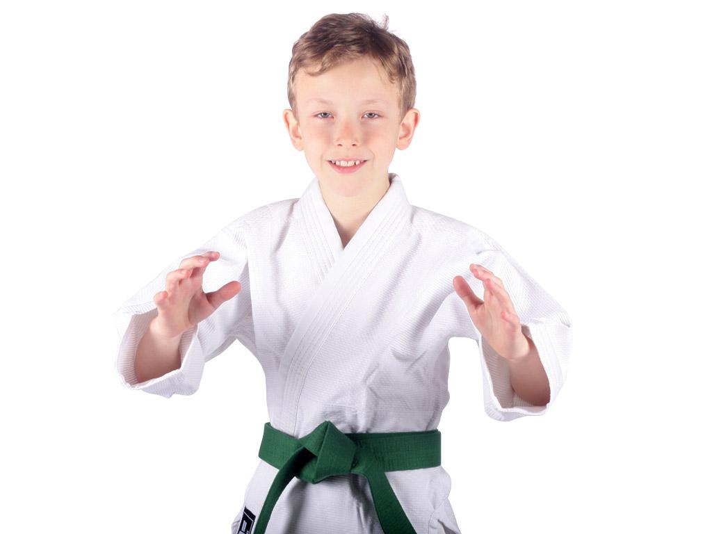 Musashi Dětské kimono na judo bílé Velikost: 100