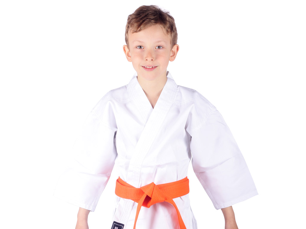 Musashi Dětské kimono na karate bílé Velikost: 110