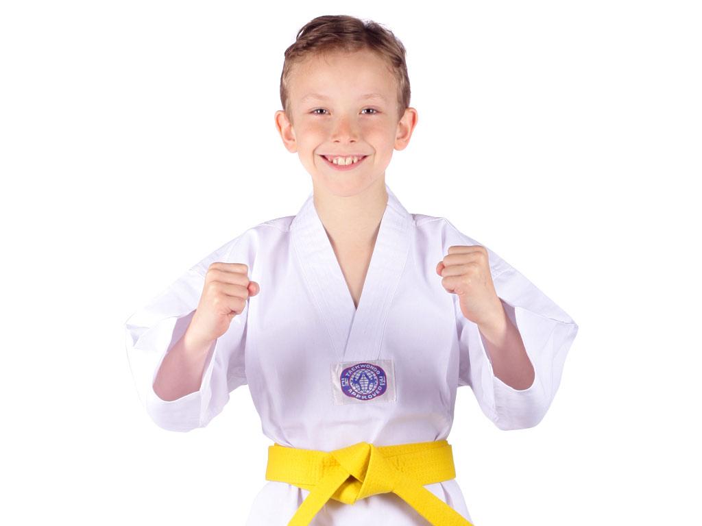 Musashi Dětské kimono na taekwondo WTF Velikost: 130
