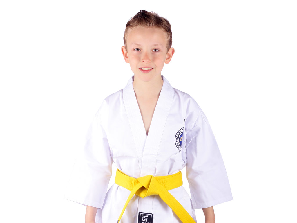 Musashi Dětské kimono na taekwondo ITF Velikost: 110