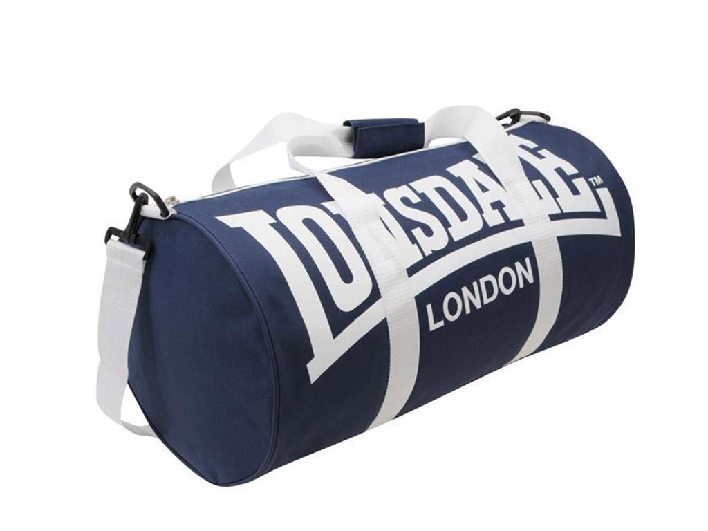 Tréninková taška Lonsdale modro/bílá