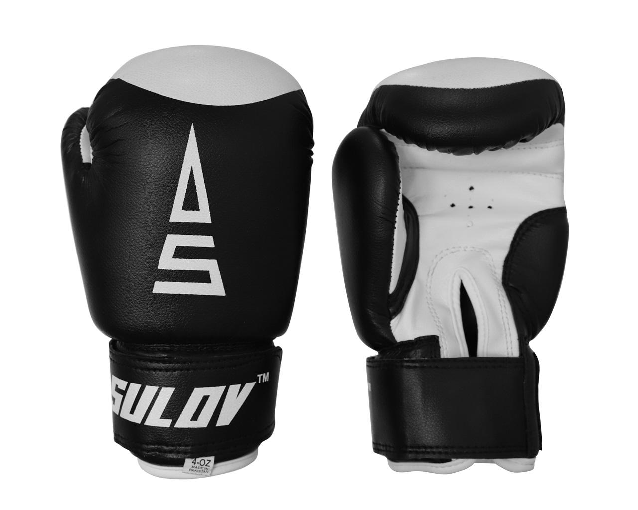 Sulov Dětské boxerské rukavice 4 oz černé