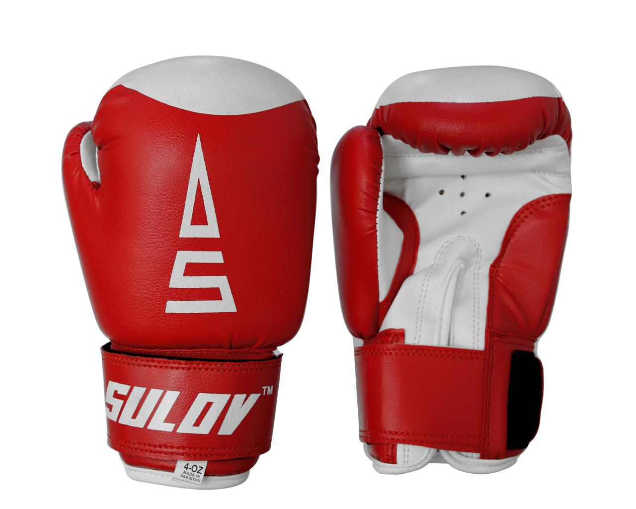 Sulov Dětské boxerské rukavice 4 oz červené