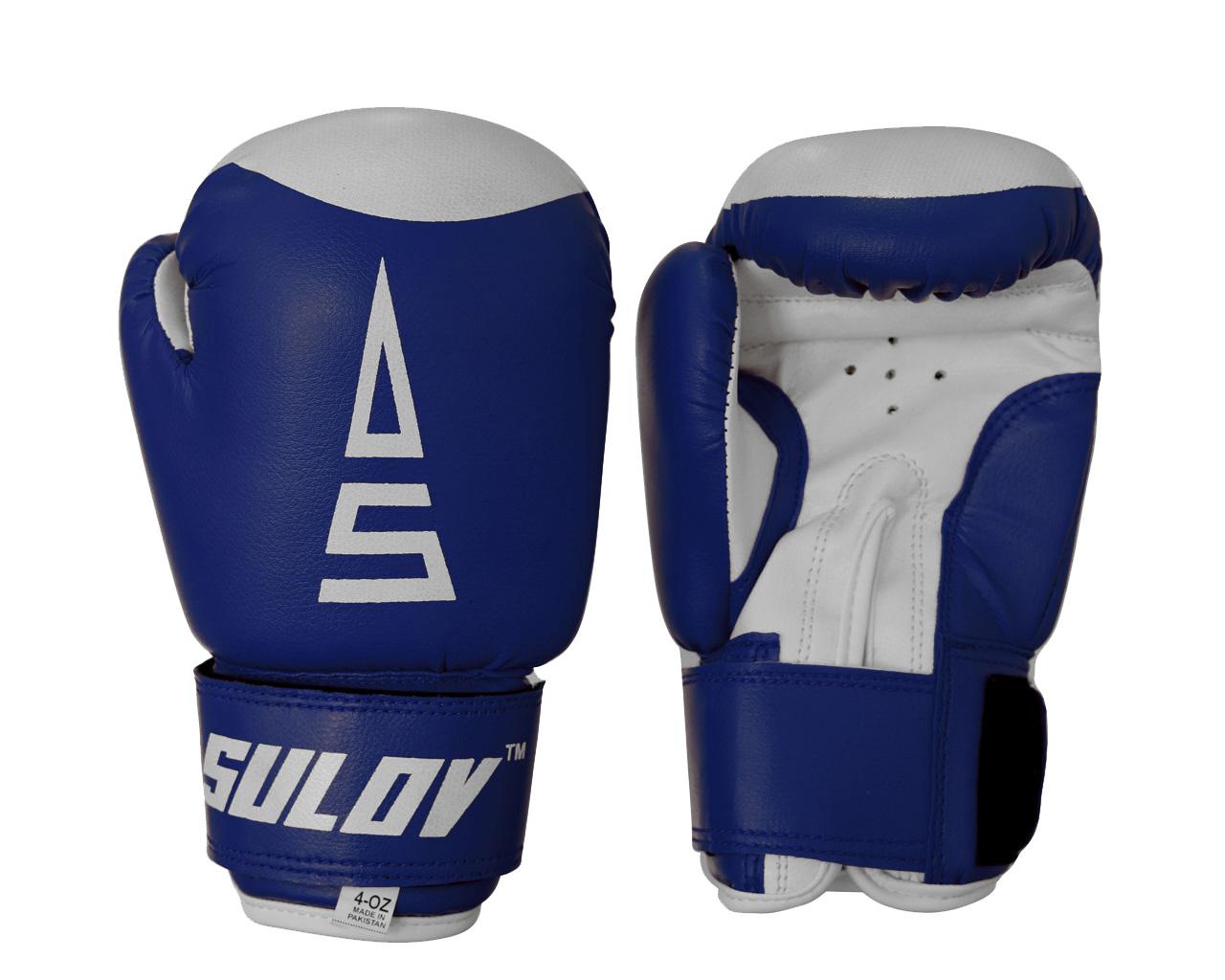 Sulov Dětské boxerské rukavice 4 oz modré