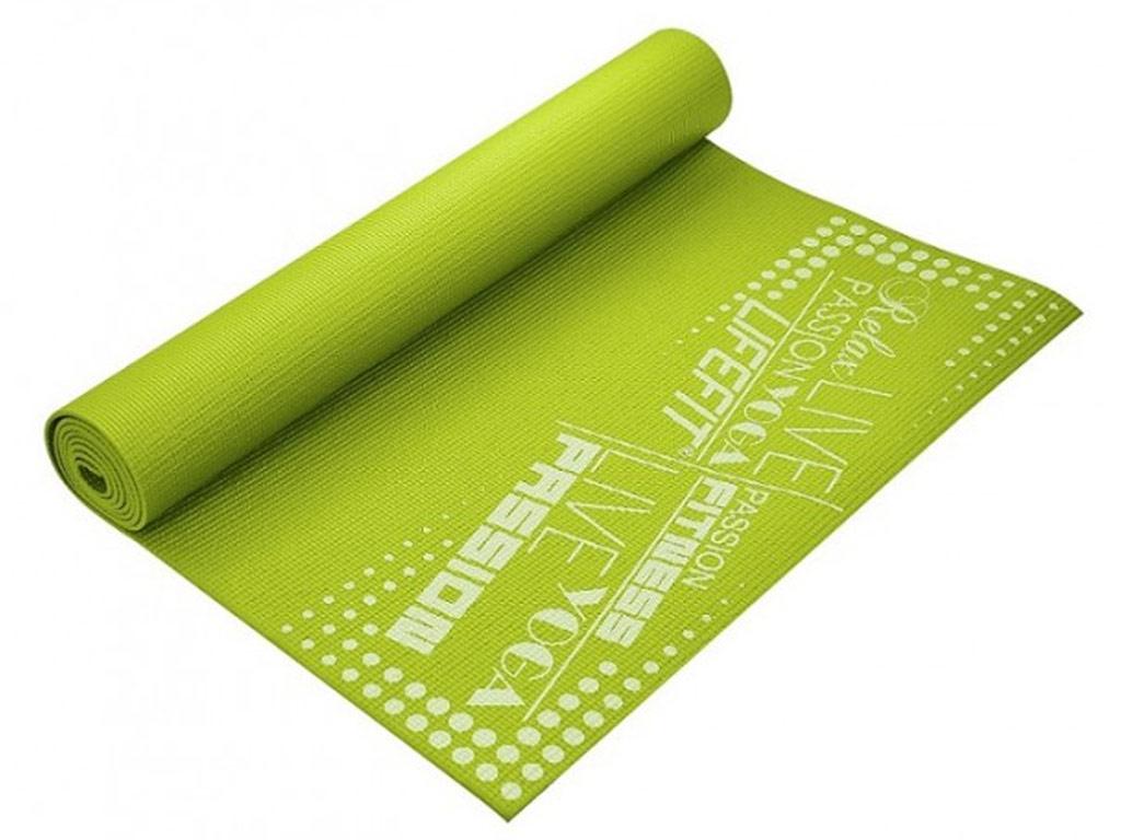 Lifefit Jóga podložka Slimfit 4mm zelená