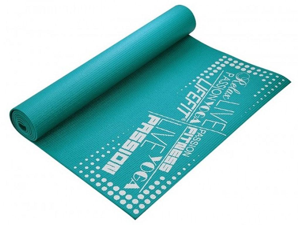 Lifefit Jóga podložka Slimfit 4mm tyrkysová