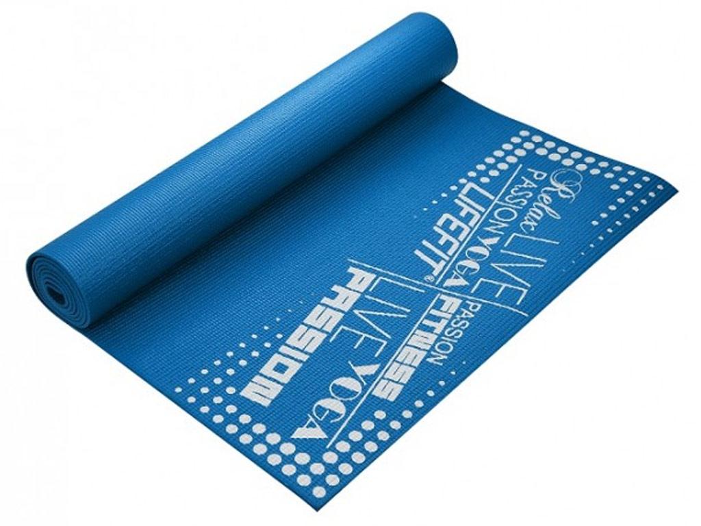 Lifefit Jóga podložka Slimfit 4mm modrá