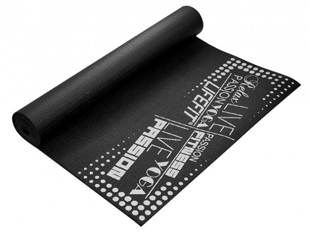Lifefit Jóga podložka Slimfit 4mm černá