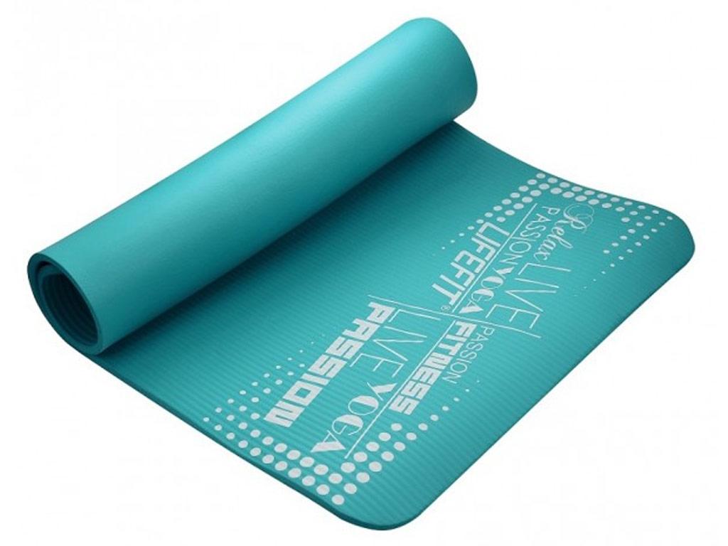 Lifefit Jóga podložka Exklusiv 10mm zelená