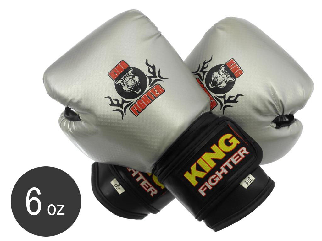Dětské boxerské rukavice King Fighter 6oz carbon