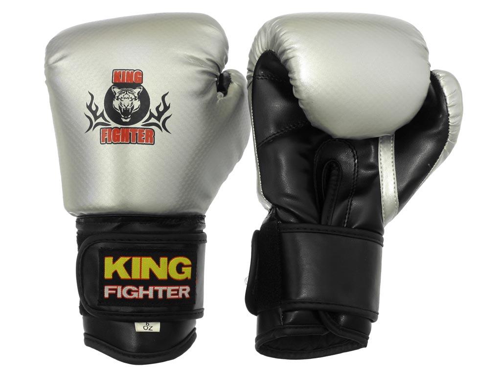 Dětské boxerské rukavice King Fighter 6oz carbon Velikost: 6 oz