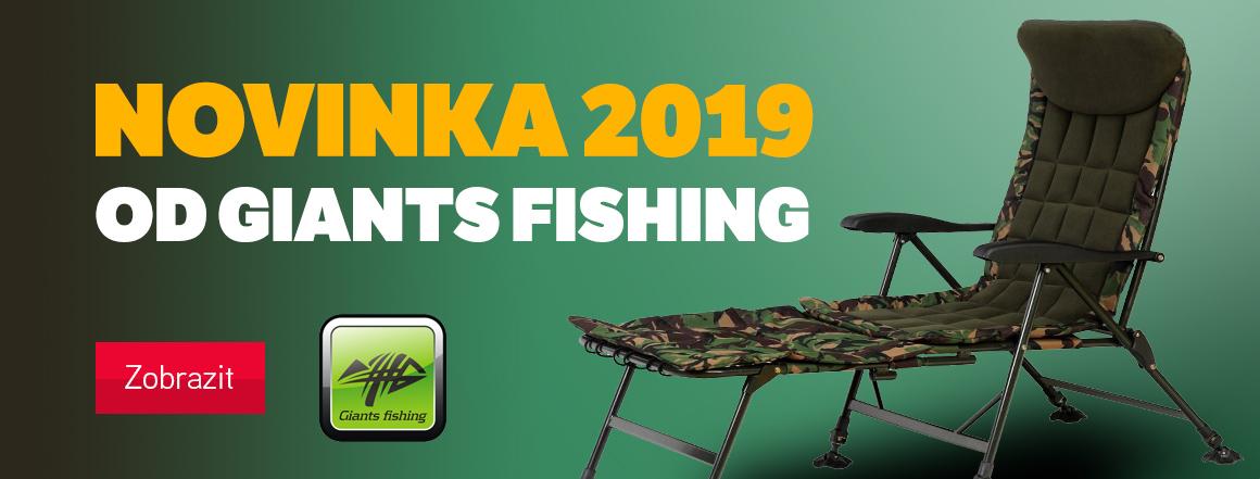 Rybářská novinka 2019 od Giants Fishing