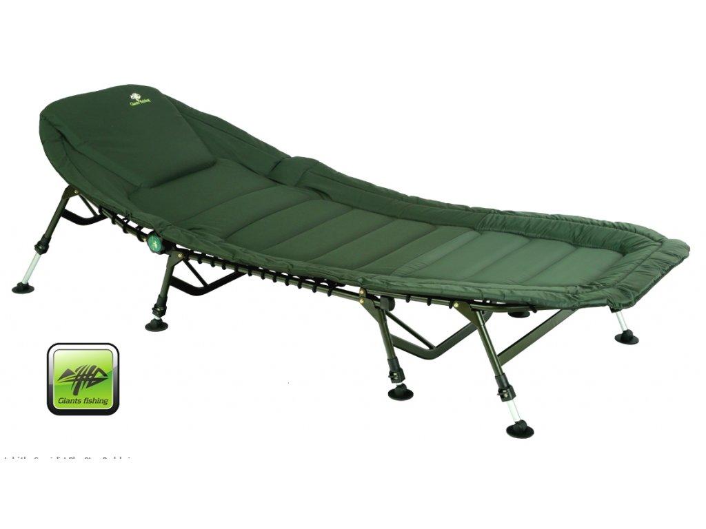 Giants Fishing Lehátko Specialist Plus 8Leg Bedchair + Přepravní taška Zdarma !!