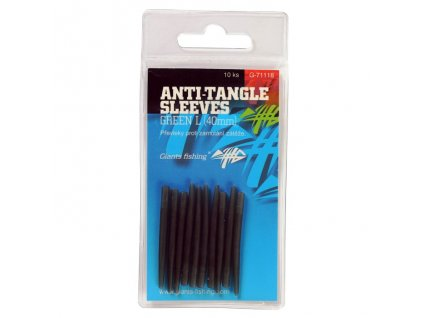 Giants Převleky proti zamotání Anti-Tangle Sleeves Green L/10ks ( 40mm )
