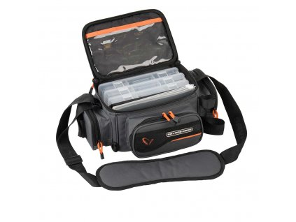 Savage Gear System Box Bag 3Boxes & PP Bags