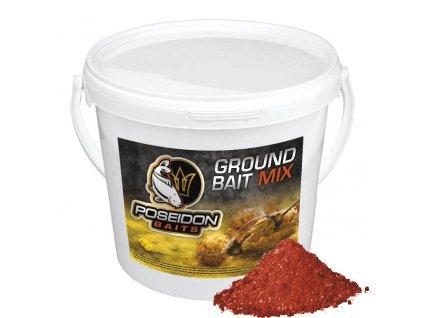 Poseidon Krmítková směs  Groundbait mix 3kg kyblík